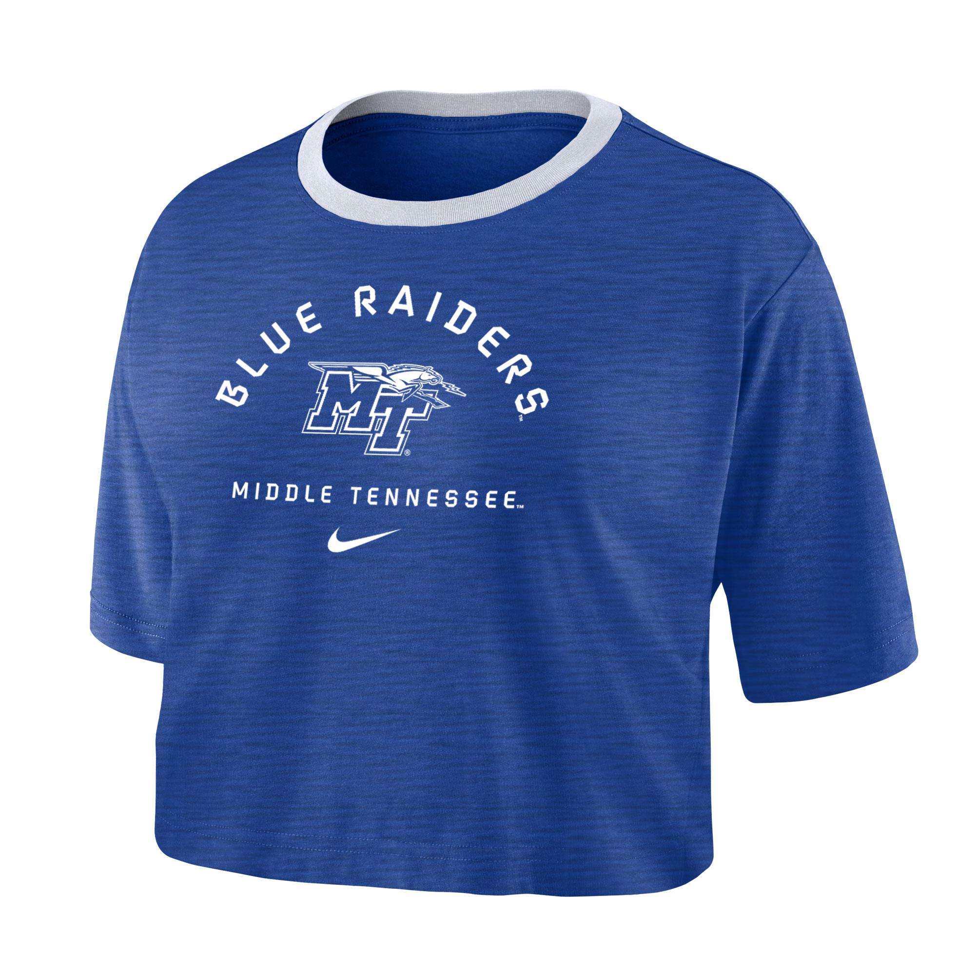Middle Tennessee Women's Dri-Fit Cotton Nike® Slub Crop