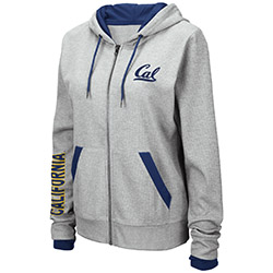 Cal Bears W Brady Full Zip Hood