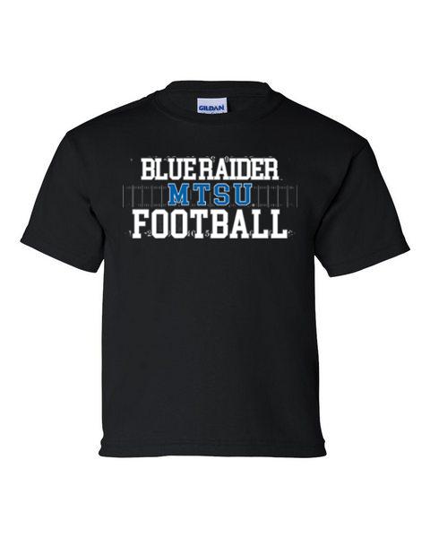 Youth Blue Raider Football Tshirt