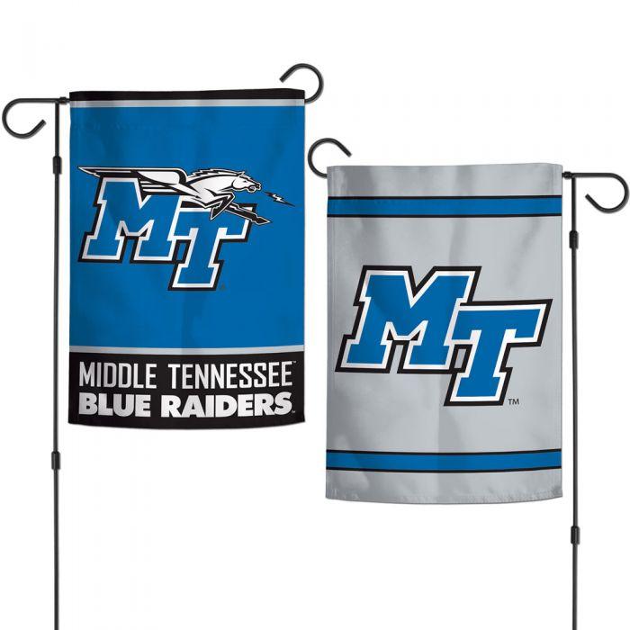 MTSU Two-Sided Garden Flag