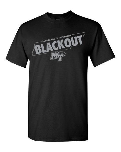 MTSU 2021 Blackout Ticket/Tshirt Package