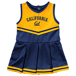 Cal Bears Infant Girls Pinky Cheer Dress
