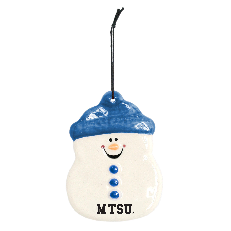 MTSU Adam Snowman Ornament