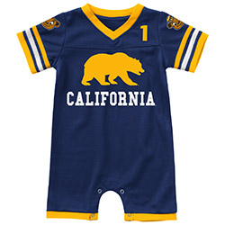 Cal Bears Infant Boys Bumpo Football Onesie