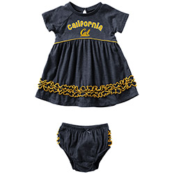 Cal Bears Infant Girls Plucky Dress Set