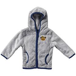 Cal Bears Infant Girls Chicken Boo Faux Fur Jacket