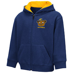 Cal Bears Toddler Boys Schnapsie FZ Hood