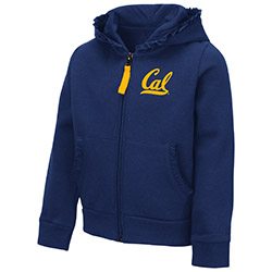 Cal Bears Toddler Girls Vina FZ Hood
