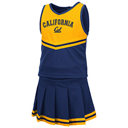 Cal Bears Toddler Girls Cheer Set
