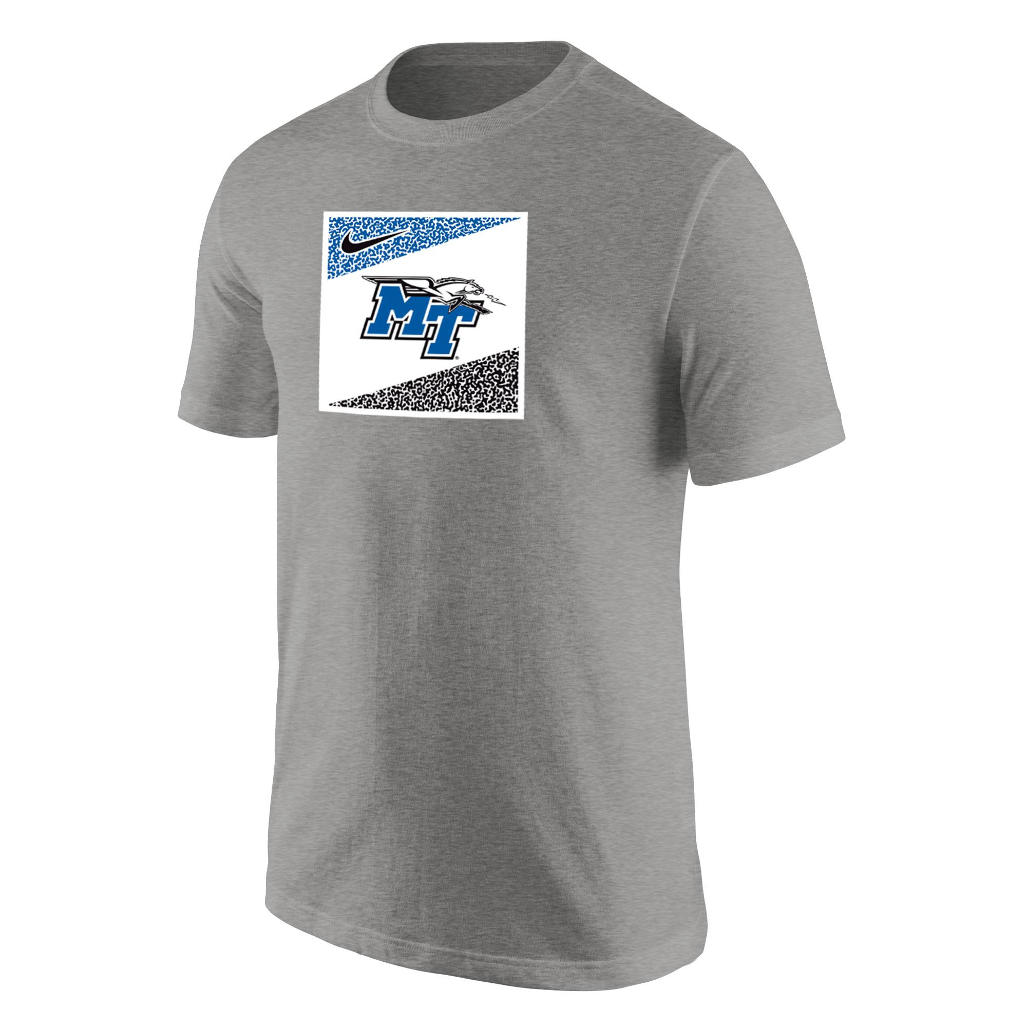 MT Logo w/ Lightning Square Design Core Cotton Nike® Shirt