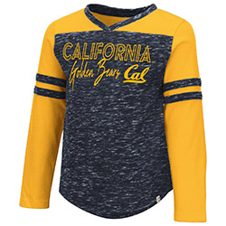Cal Bears Toddler Girls Pipsqueak L/S Tee