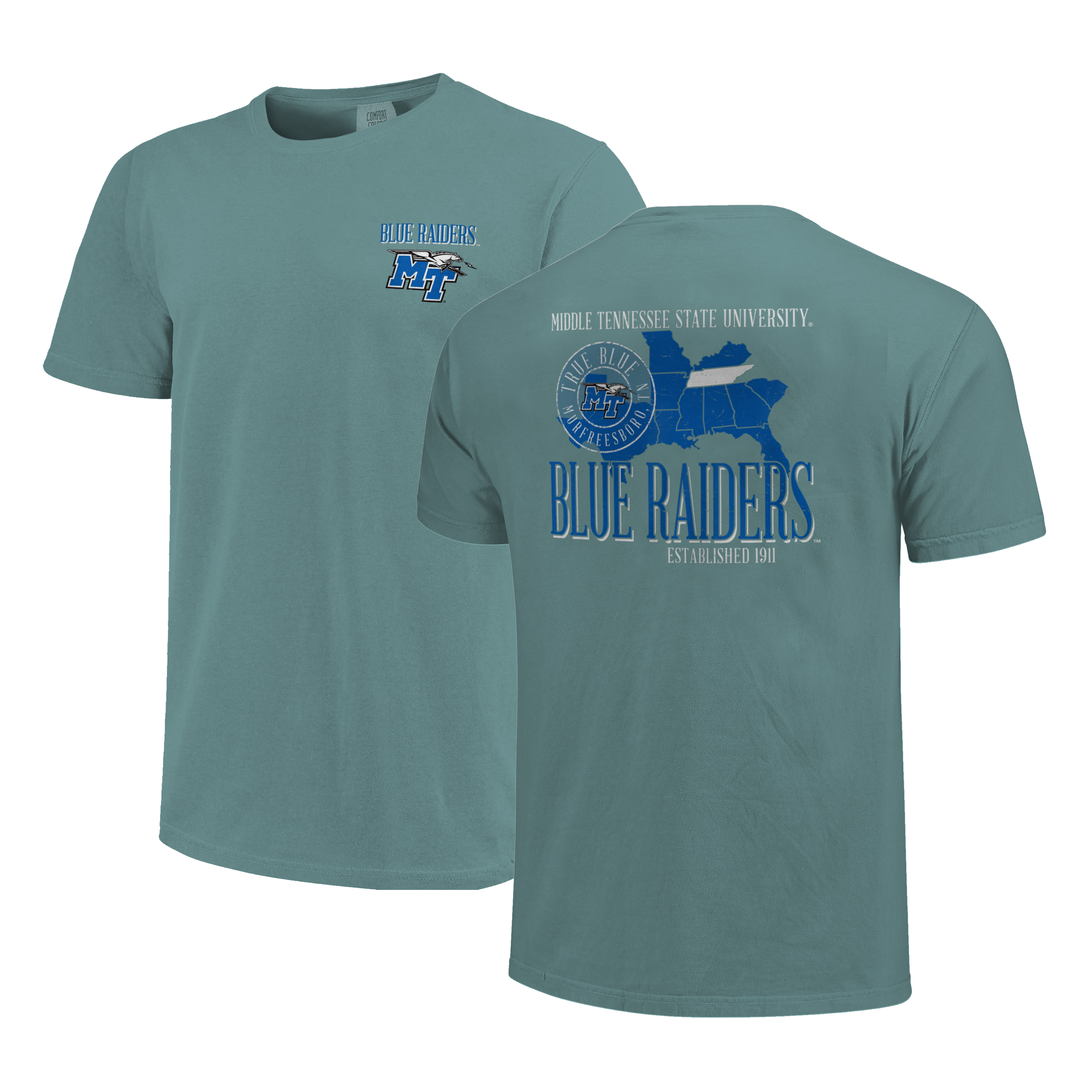 Blue Raiders Best of the Best Comfort Colors Shirt