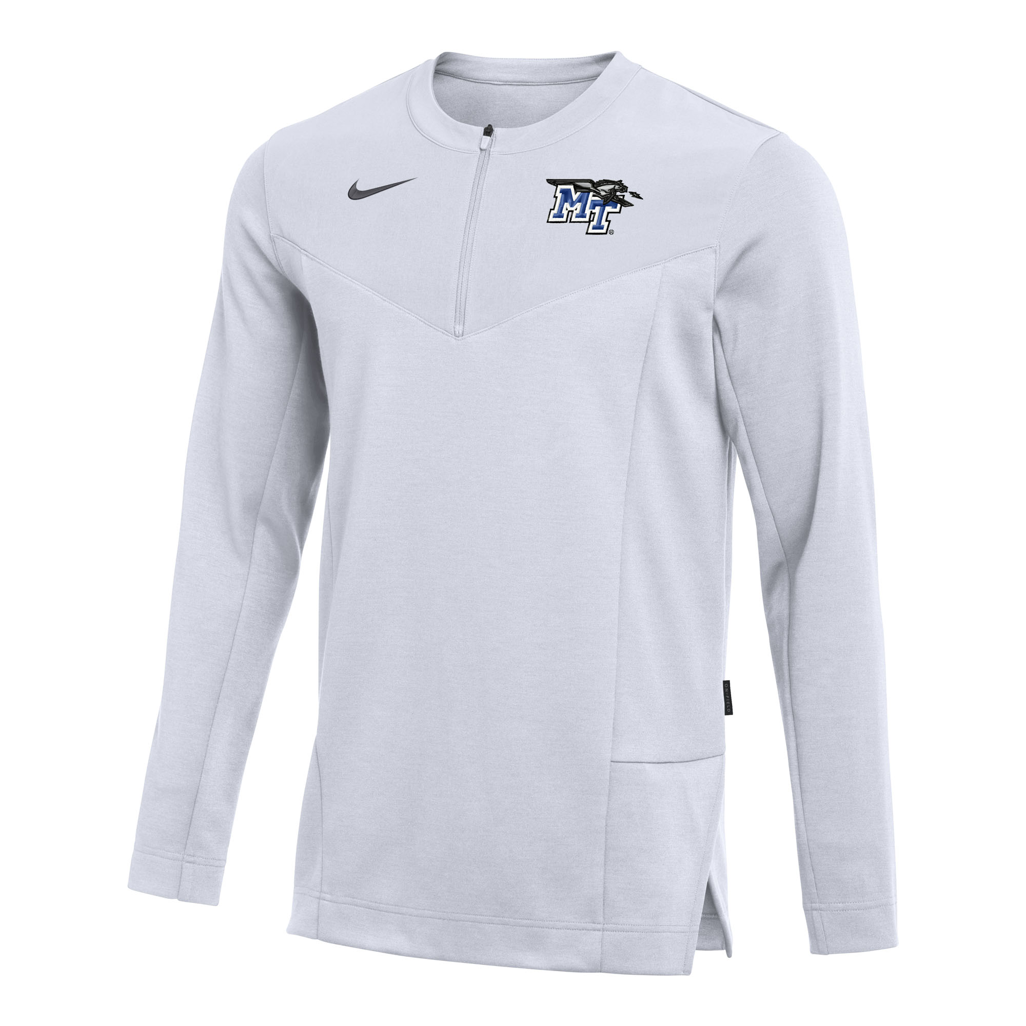 MT Logo w/ Lightning UV Coach Nike Sideline® 1/2 Zip Top