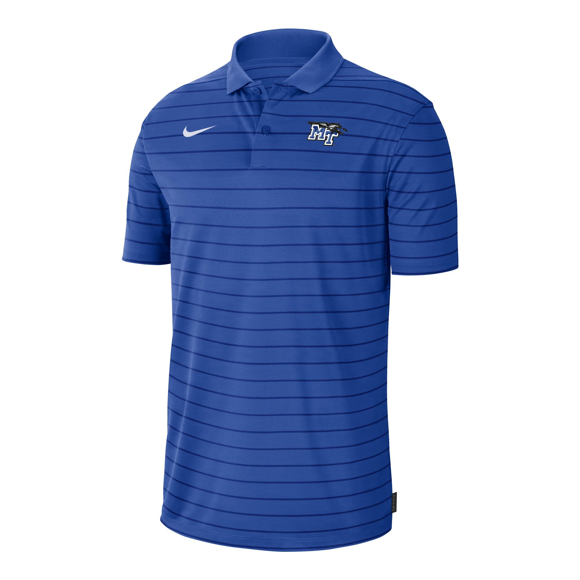 MT Logo w/ Lightning Victory Stripe Nike Sideline® Polo
