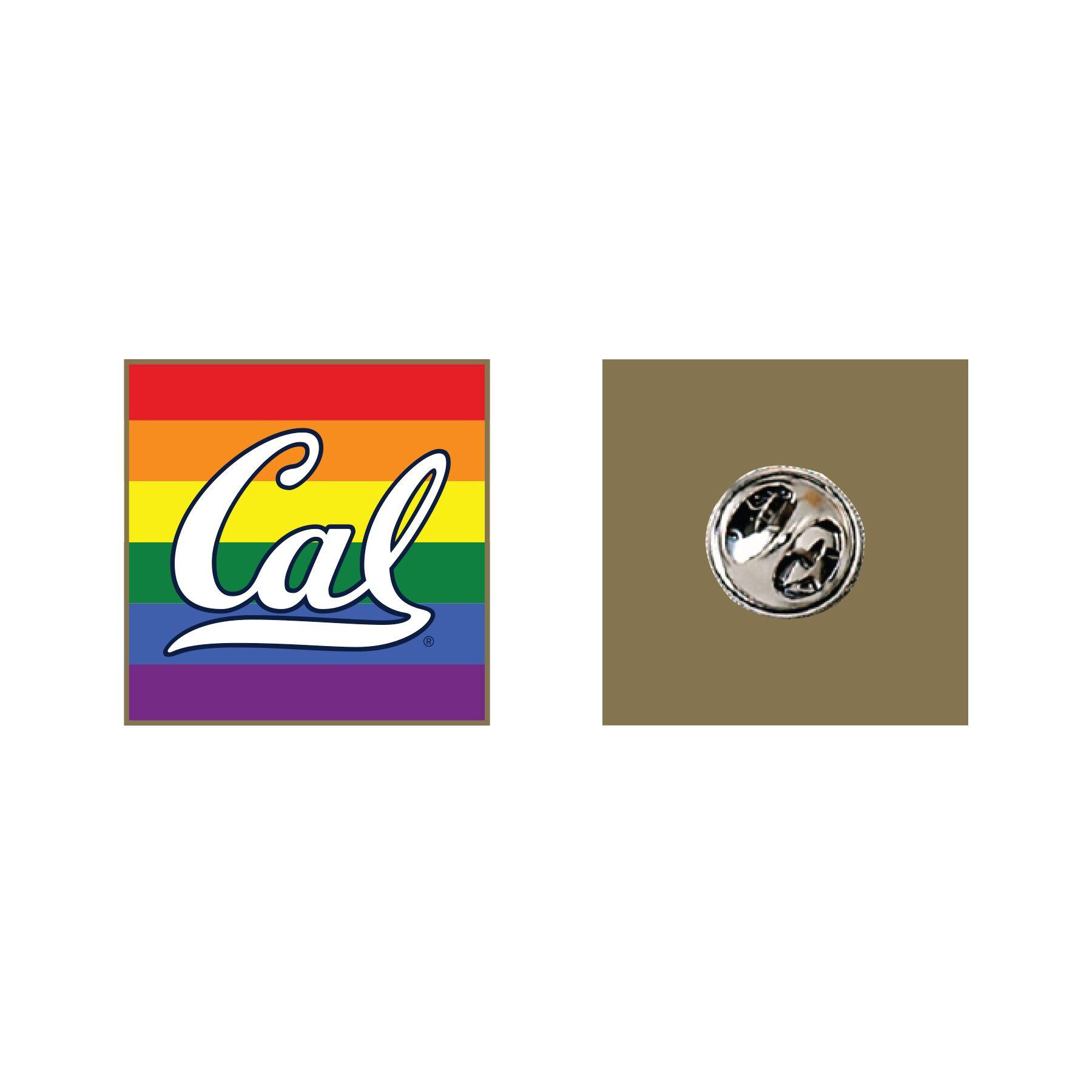 Cal Bears Rainbow Lapel Pin