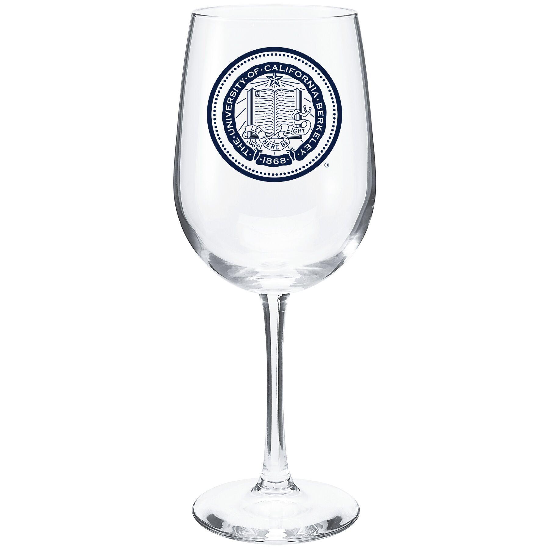 Vina Wine Glass Seal Logo