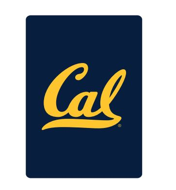 Cal Bears Deck of Playing Cards Navy Gold Cal Logo