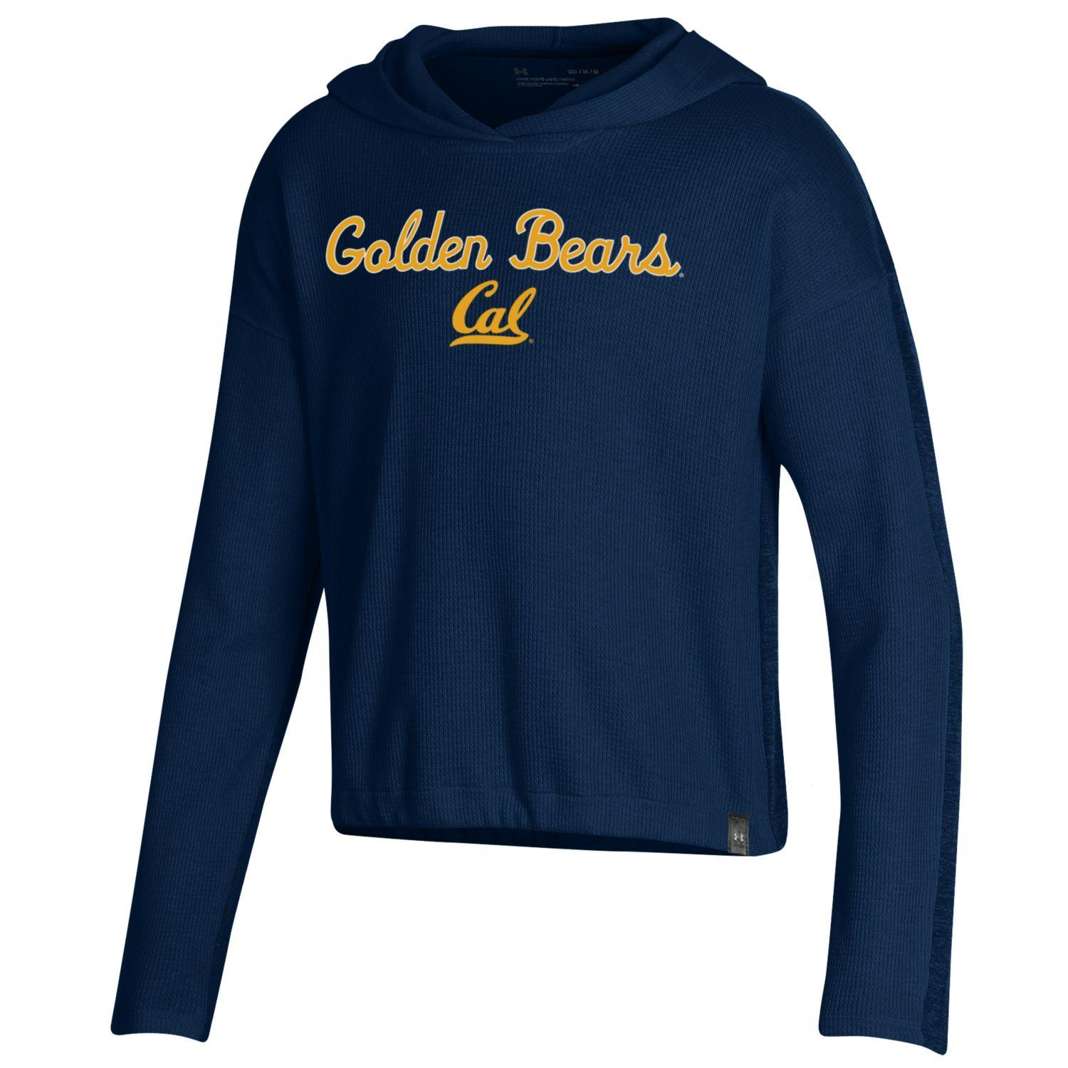 Cal Bears Under Armour Girls F19 SMU Waffle Hoody