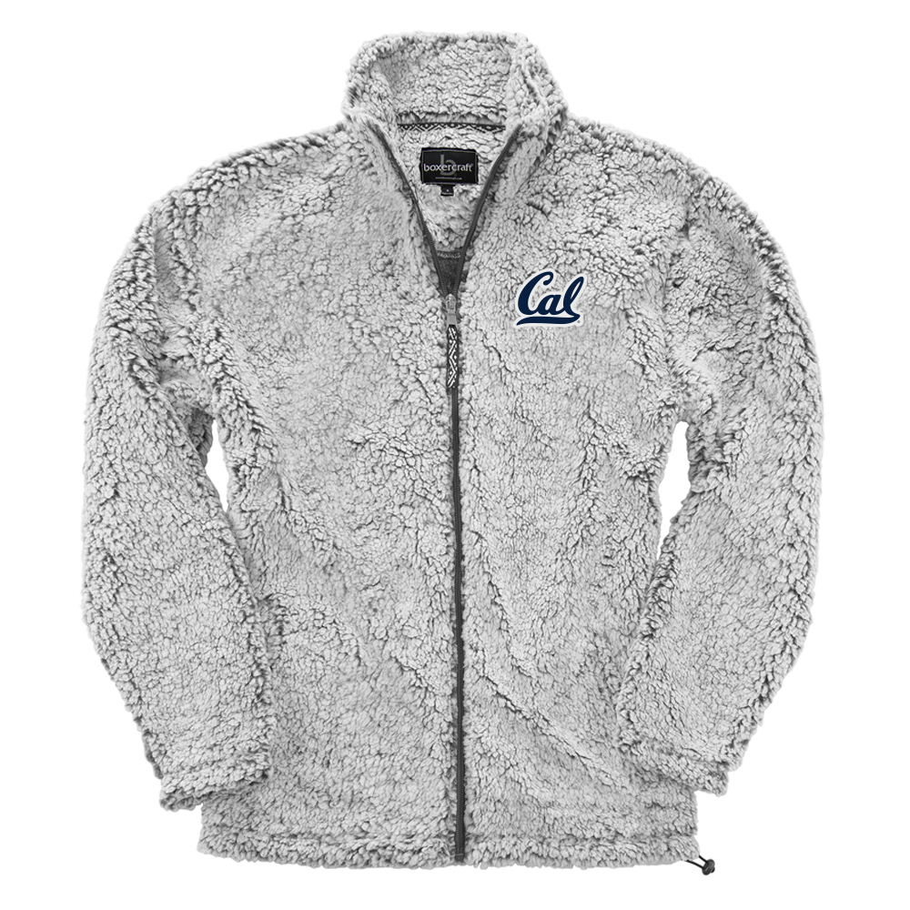 Cal Bears M FZ Sherpa Jacket Cal Logo