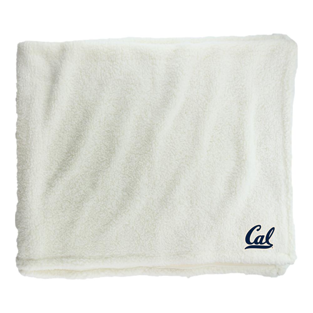 Cal Bears Sherpa Blanket Cal Logo