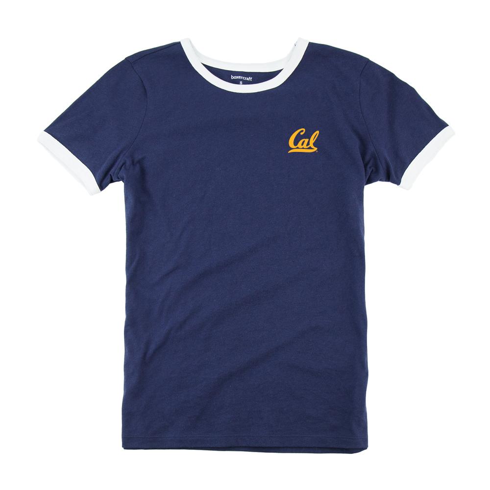 Cal Bears M Ringer Tee Cal Logo