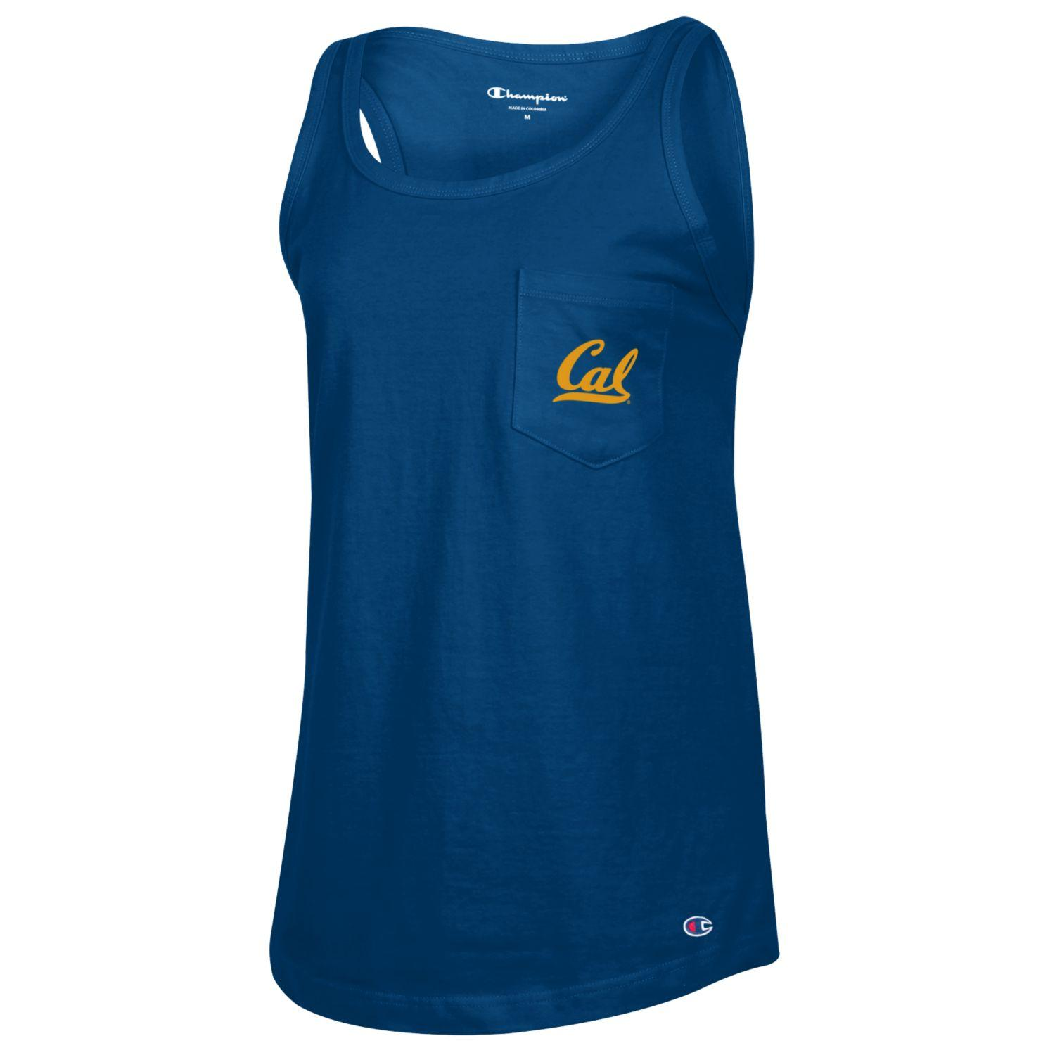 Cal Bears OTO Women's Boyfriend Fit Pocket Tank