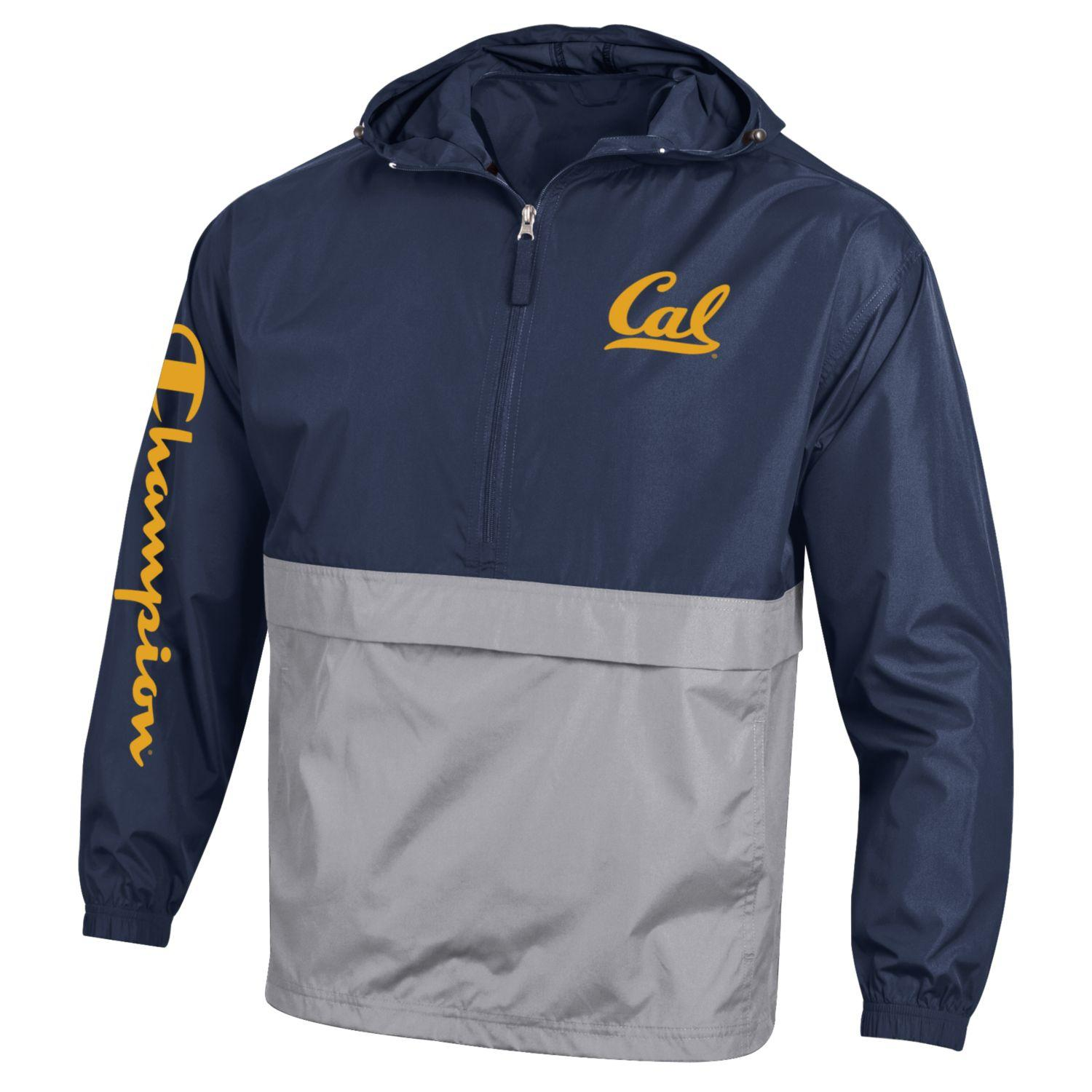 Cal Bears Champion Color Block Packable Jacket