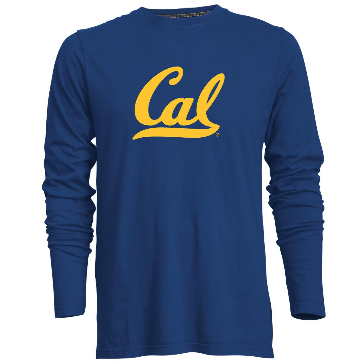 Cal Bears M Guru LS Tee Cal Logo