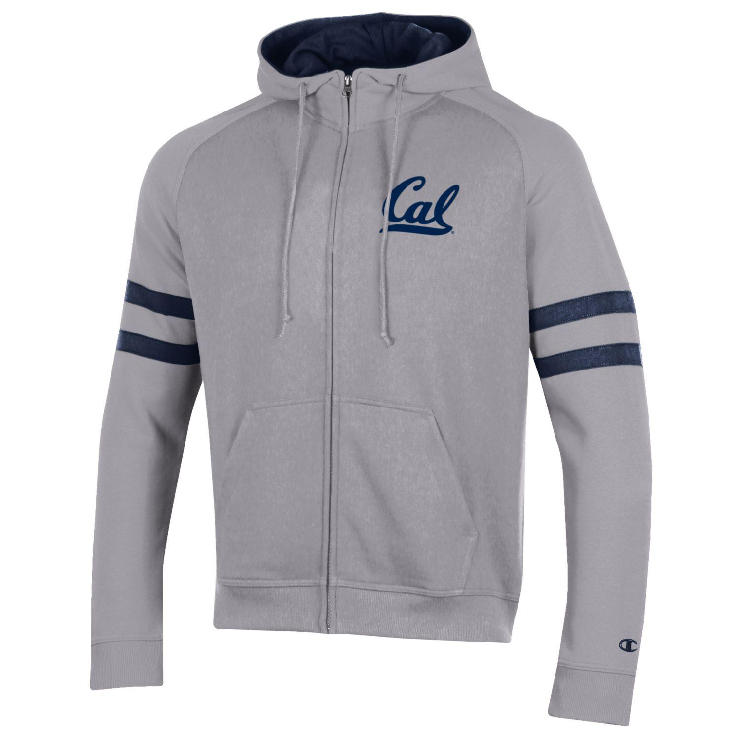 Cal Bears M Super Fan MTO Fully Zip Hood