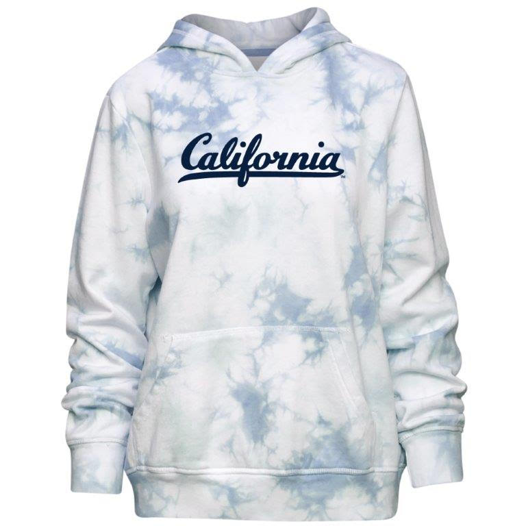 W Starburst Tie Dye Hood California WM