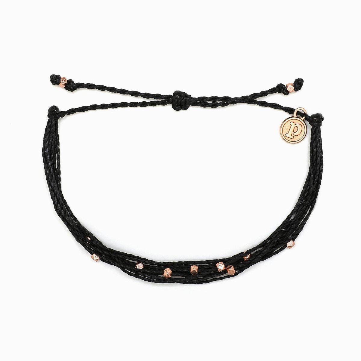 Pura Vida Rose Gold Malibu Bracelet