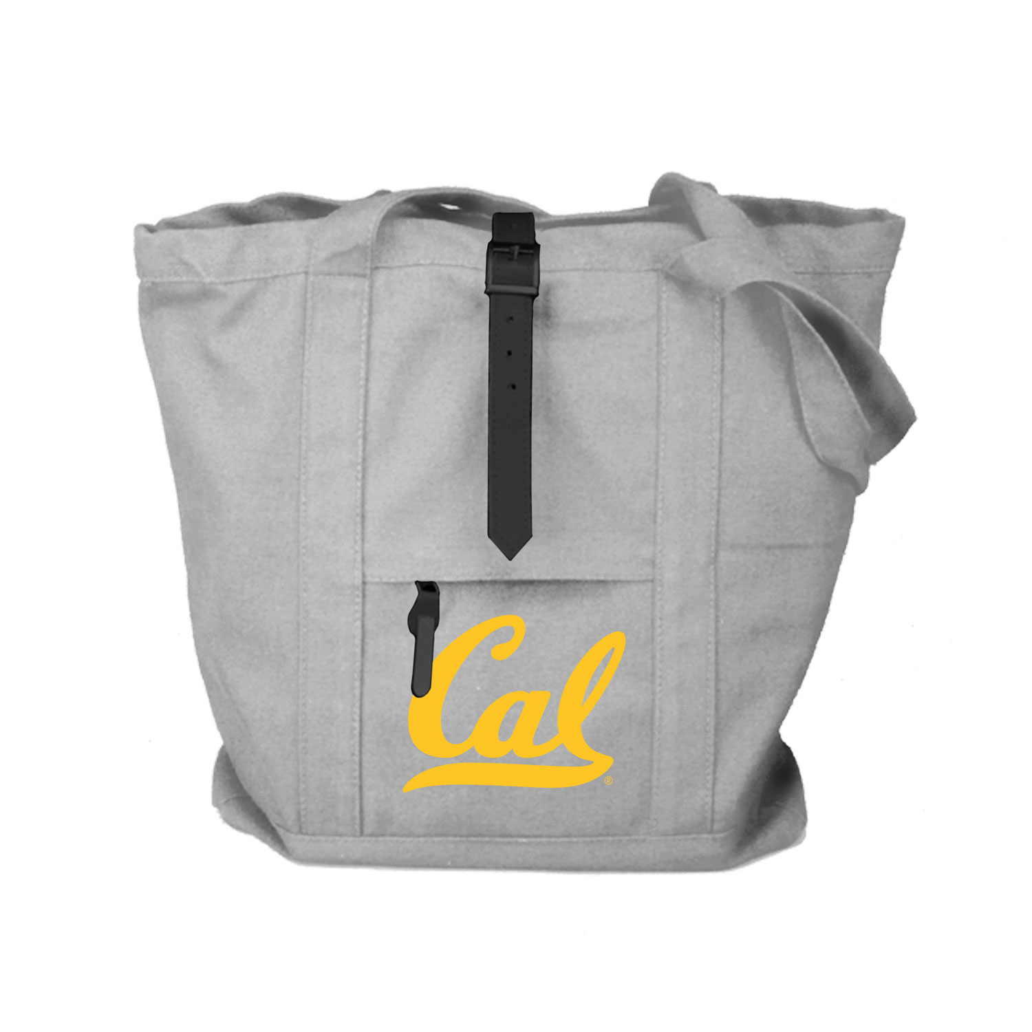 Cal Bears Peachskin Cotton Strapping Tote