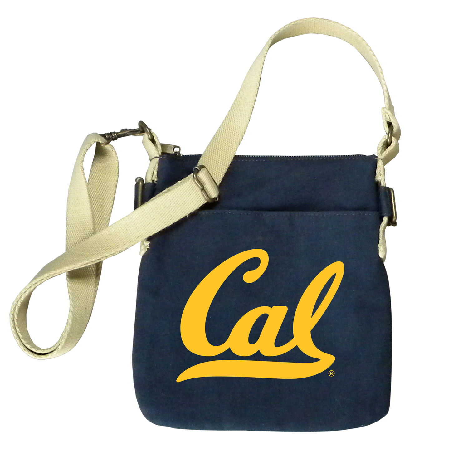 Cal Bears Peachskin Cotton Strapping Satchel