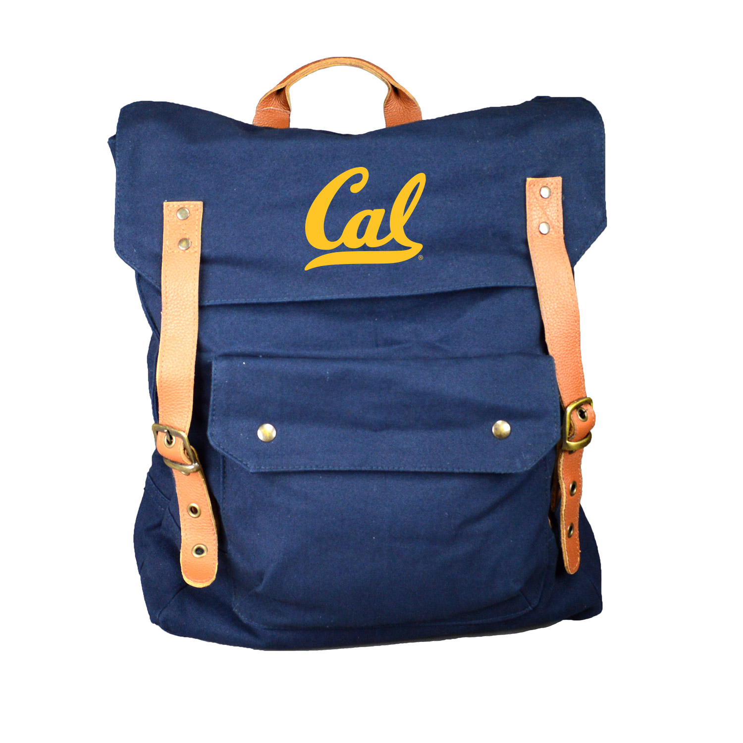 Cal Bears Peachskin Cotton Strapping Rucksack