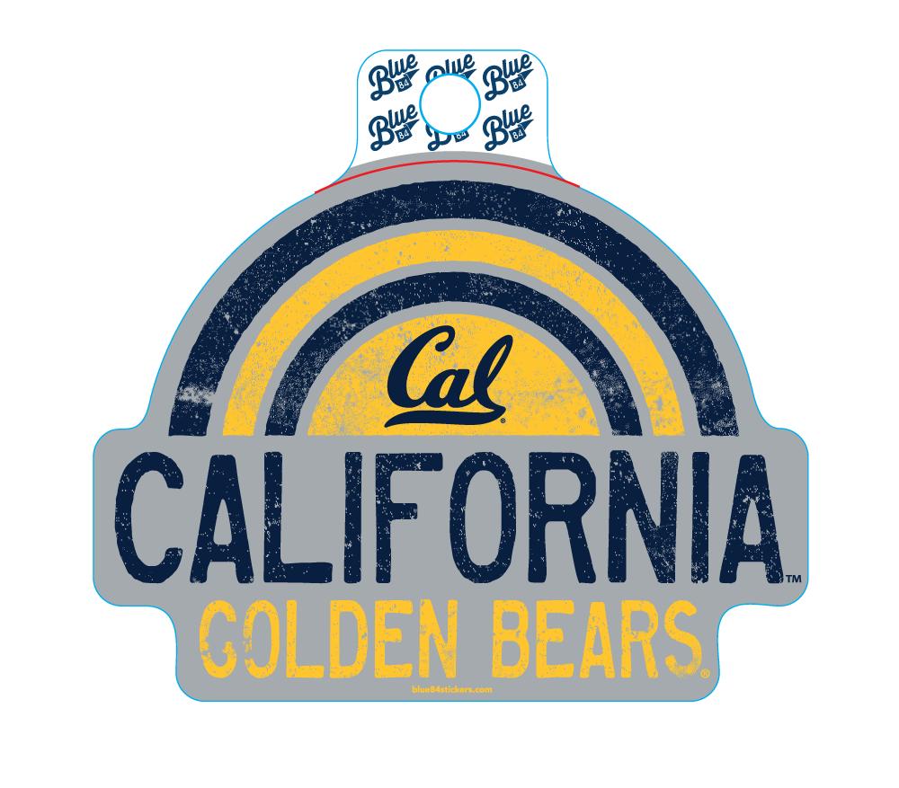 Sticker BRINLEY LYFSTL-Rainbow Cal Bears