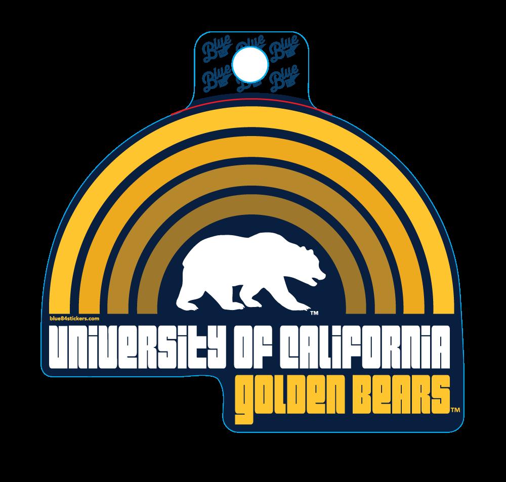 Sticker RETRO RAINBOW LIFESTYLE-Bear School Name