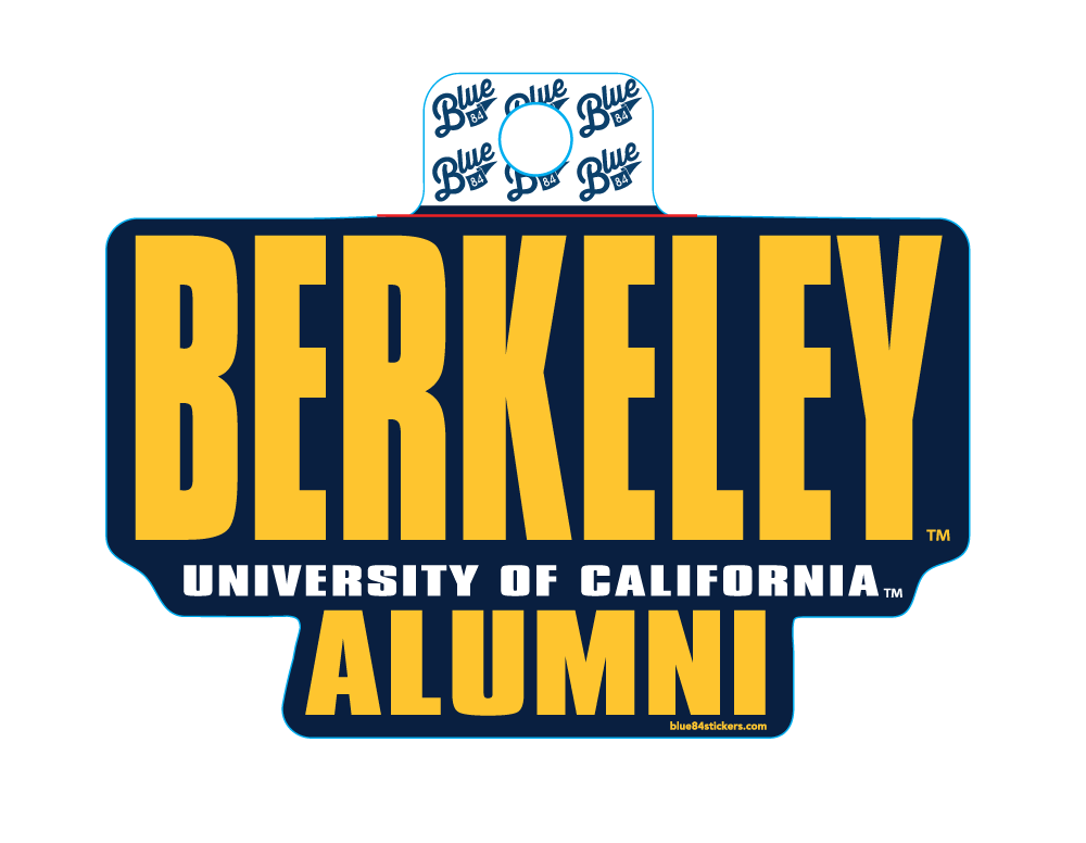 Sticker SEE THROUGH SCREEN V3-Berkeley Alumni