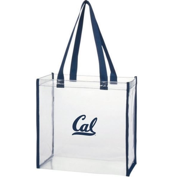 Cal Bears Clear Gameday Tote