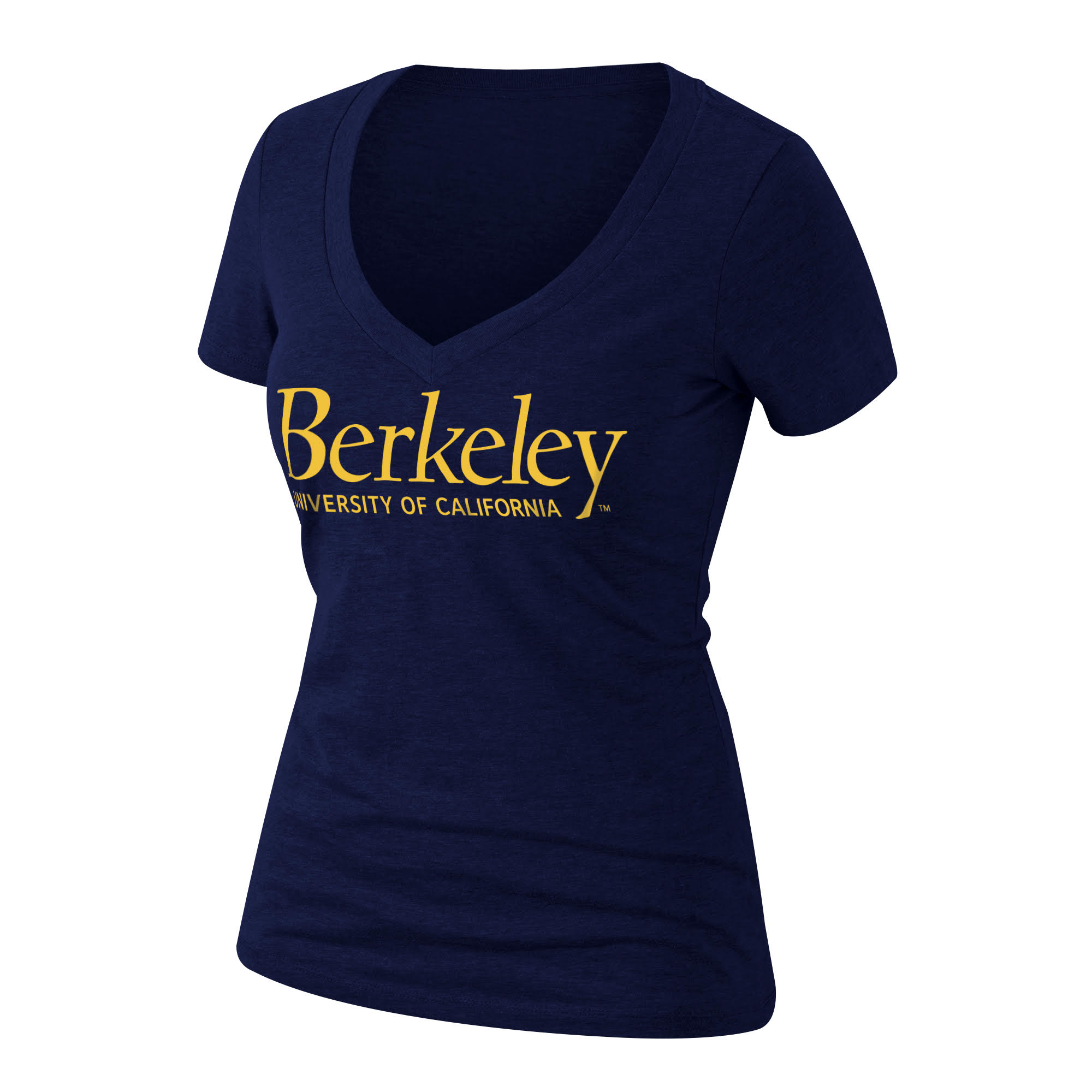 Cal Bears W Ultimate CVC Deep V-Neck