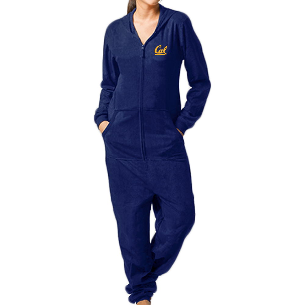 Cal Bears M Polar Fleece Union Suit