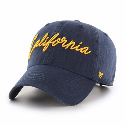 Cal Bears W Lyric Cleanup 'California' Hat