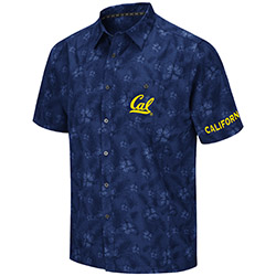 Cal Bears M Molokai Camp Shirt