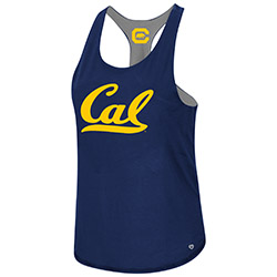 Cal Bears W Mona Lisa Reversible Tank