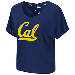 Cal Bears W Lucy Strappy SS Tee