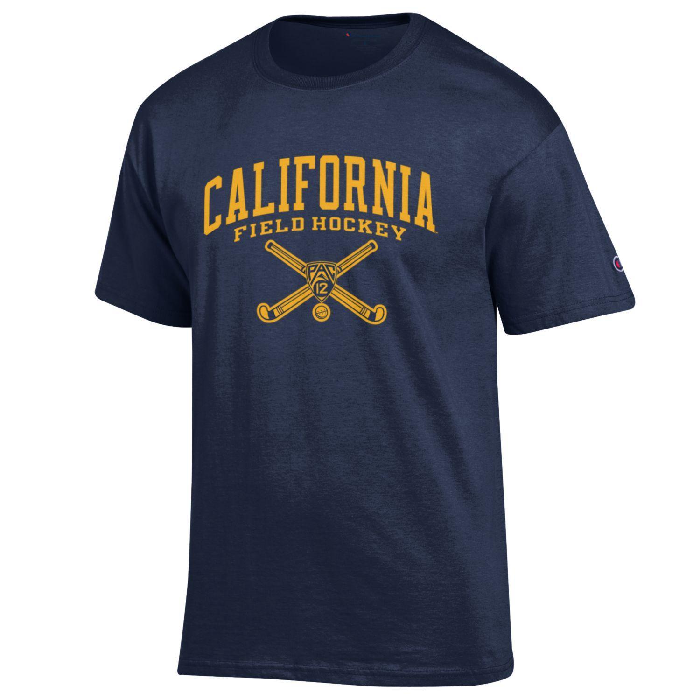 University of California Berkeley Sports Tee- Field Hockey