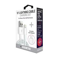 CaseMetro 10' Lightning Cable Charging Set