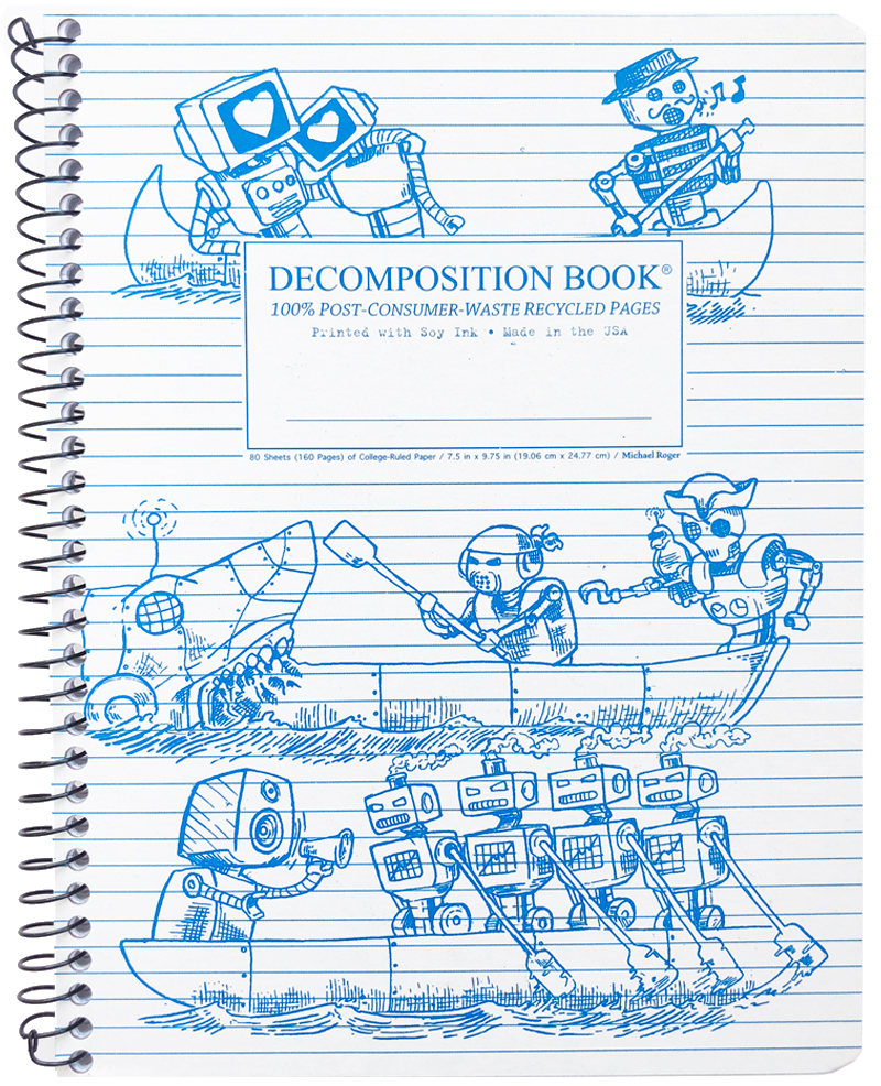 Michael Roger Coilbound Decomposition Book - Rowbots