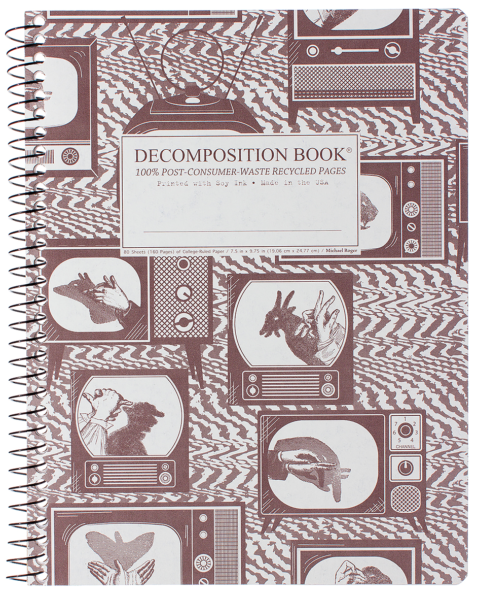 Michael Roger Coilbound Decomposition Book - Shadow Puppets