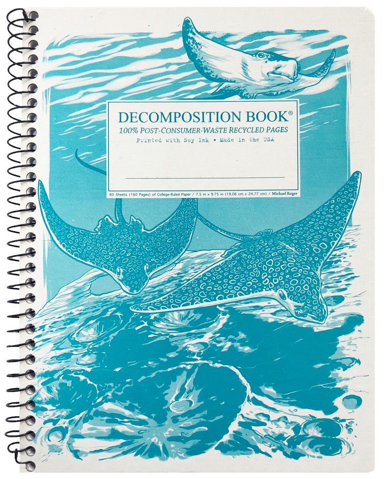 Michael Roger Coilbound Decomposition Book - Spotted Eagle Rays