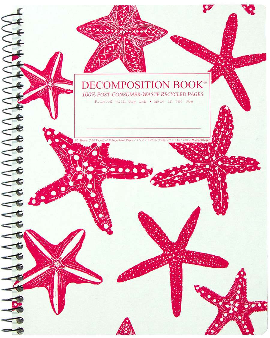 Michael Roger Coilbound Decomposition Book - Starfish